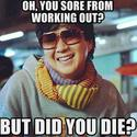 Are You Sore From Working Out?