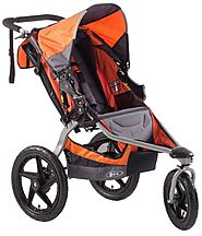 Best Bob Jogging Strollers for Runners | BOB Revolution SE Single Stroller, Orange