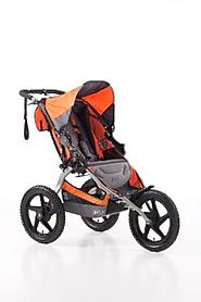 Best Bob Jogging Strollers for Runners | BOB Sport Utility Single Stroller, Orange