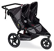 Best Bob Jogging Strollers for Runners | BOB Revolution Flex Duallie Stroller, Black