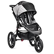 Best Baby Jogger Strollers for Jogging | Baby Jogger Summit X3 Single Stroller, Black/Gray