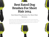 Best Rated Dog Brushes For Short Hair | Best Rated Dog Brushes For Short Hair 2014