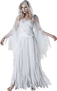 Adult Spooky Ghost Costumes For Halloween • Holiday Décor – Season Charm