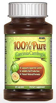 (★) #1 Premium Garcinia Cambogia Extract, Money Back Guarantee!, (Only Natural Calcium), Only Clinincally Proven Weig...