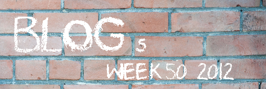 My Top 10 Blog Posts of week 50, 2012