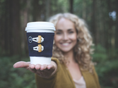 Canadian Crowdfunding Campaigns | Cup Cuff: Hot Coffee Not Hands!