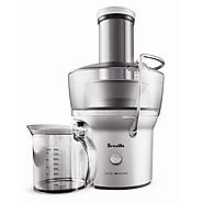 Best Breville Juicers for Vegetables | Breville the Juice Fountain Compact Wide-Mouth Slow Juicer- Kitchen Things