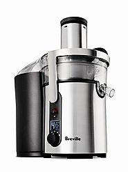 Best Breville Juicers for Vegetables | Breville BJE510XL Juice Fountain Multi-Speed 900-Watt Juicer