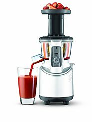 Best Breville Juicers for Vegetables | Breville BJS600XL Fountain Crush Masticating Slow Juicer