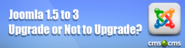 Joomla Upgrade 1.5 to 3. An Automated Solution.