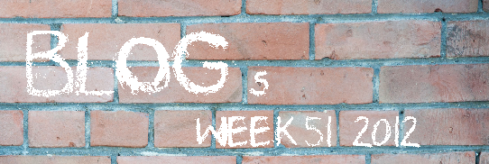 Top 10 Blog Posts Of Week 51 2012