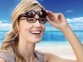 Solar Shield Fits Over Sunglasses for Eyeglass Wearers