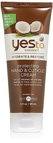 Best Natural Hand Creams 2017 - Top Picks in Moisturizers for Hands | Yes To Coconut Hydrate & Restore Protecting Hand & Cuticle Cream