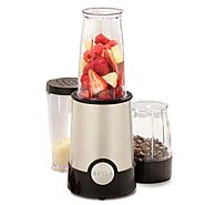 Best Single Serving Blenders | BELLA 13586 12-Piece Rocket Blender, Stainless Steel and Black