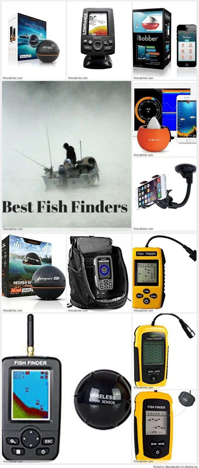 Best cheap portable kayak fish finders reviews a listly list for Best fish finder under 300