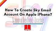 Sky Tech How-To's & Troubleshooting Tips - BEST EVER - Visual Masterpiece | How To Create Sky Email Account On Apple iPhone? - Sky UK