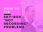 "Sky Tech How-To's & Troubleshooting Tips - BEST EVER - Visual Masterpiece | How To Fix My Sky+Box ""Not Recording"" Problems?"
