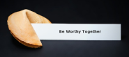 In 2013 Let's Be Worthy Together - #MyThreeWords | via @nickkellet