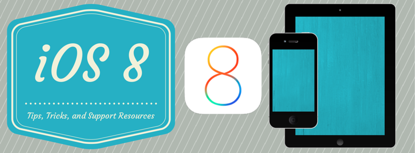 iOS8 update tips, tricks, and support resources