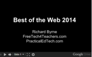 Educational Technology - Tools for Teachers | Free Technology for Teachers: Best of the Web 2014