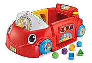 Laugh and Learn Smart Stages Chair by Fisher Price | Fisher-Price Laugh & Learn Smart Stages Crawl Around Car (Red)