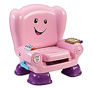 Laugh and Learn Smart Stages Chair by Fisher Price | Fisher-Price Smart Stages Chair Pink