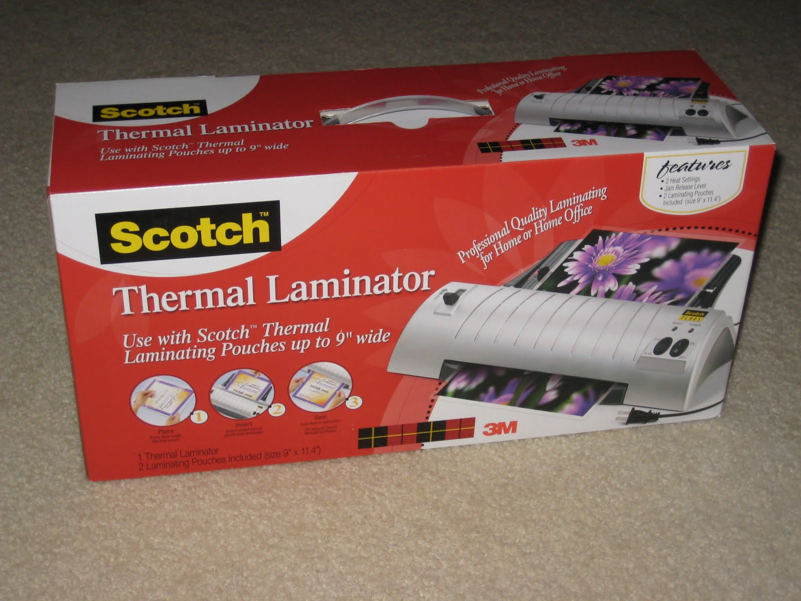 Headline for Best Scotch Thermal Laminator, Laminating Pouches Walmart 2014 Reviews