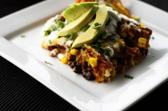 Slow-Cooker Chicken and Black Bean Enchiladas | Foodie With Family
