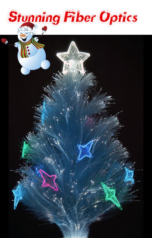 3 Ft Fiber Optic Christmas Tree - Home Design Ideas