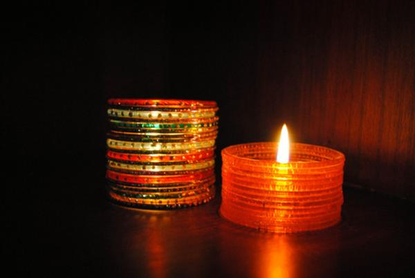 This diwali make your own decorations a listly list for Latest best out of waste