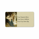 Angels Serenade Mary Vintage Address Label from Zazzle.com