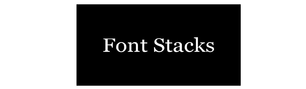 Headline for Your top tips for using @fontstacks #webtoolswiki
