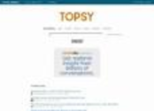 Analytic / KPI Tools | Topsy - Instant social insight