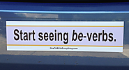 Be-Verbs: The Bumper Sticker | My car, Portland, Oregon