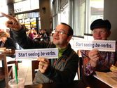 Be-Verbs: The Bumper Sticker | Will Fleming & Jodie Gilmore, Portland, Oregon