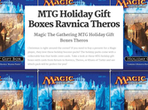 Magic The Gathering MTG Holiday Gift Boxes Ravnica Theros | MTG Holiday Gift Boxes Ravnica Theros