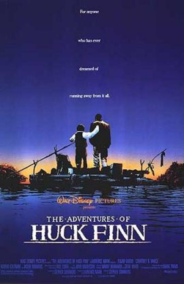 the actions of huck in the adventures of huckleberry finn