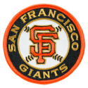 Embroidered Patches for Sale | San Francisco Giants Patch (direct link)