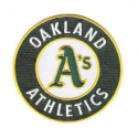 Embroidered Patches for Sale | Oakland Athletics Patch (direct link)