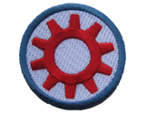 Embroidered Patches for Sale | TechShop Badge (direct link)