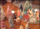 Bottle Brush Christmas Trees | Bottle Brush Trees #2 Decorating with Glitter and Ornaments