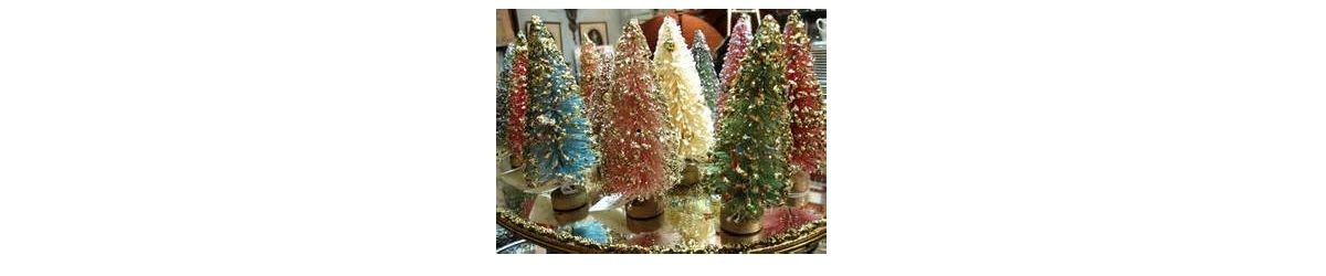Headline for Bottle Brush Christmas Trees