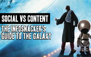 Infosnackers Guide to the Galaxy [video] [playlist] [shortform]. #LAVACON2014 | What's driving your strategy? Social OR Content?
