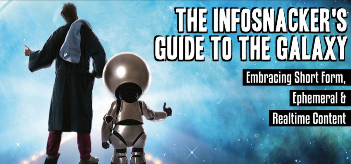 Headline for Infosnackers Guide to the Galaxy [video] [playlist] [shortform]. #LAVACON2014