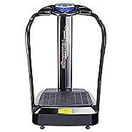 Top 10 Best Selling Vibration Machines 2017 | Pinty 2000W Whole Body Vibration Platform Exercise Machine with MP3 Player (Black)