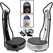 Top 10 Best Selling Vibration Machines 2017 | GForce DUAL MOTOR Whole Body Vibration Power Vibe Plate Exercise Machine with DVD