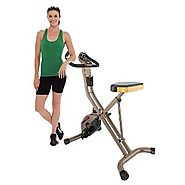Top 10 Best Selling Exercise Bikes 2017 | Exerpeutic GOLD 500 XLS Foldable Upright Bike, 400 lbs