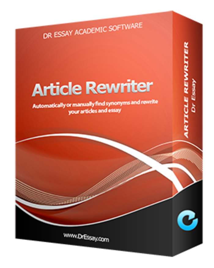 Software for paraphrasing essays