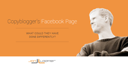 Lektury #12 | What Copyblogger Could Have Done With Its Facebook Page