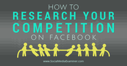 Lektury #12 | How to Research Your Competition on Facebook
